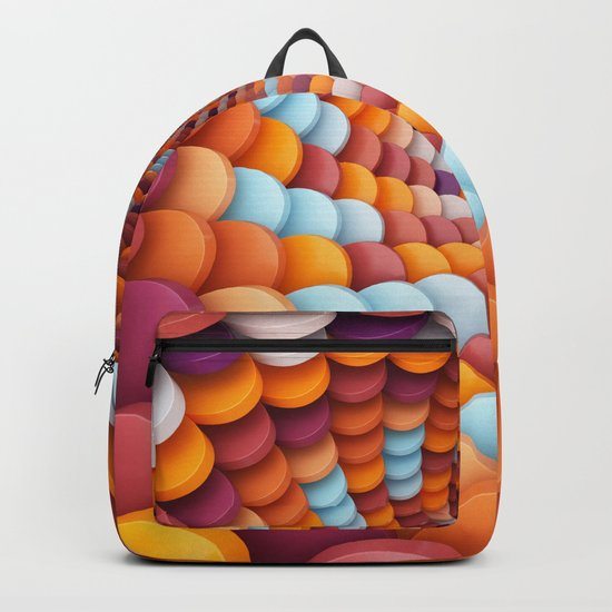 Colorful Portal Backpack