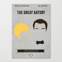 gatsby Canvas Prints featuring GATSBY by Anthony Morell
