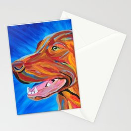 Colorful Lab Stationery Cards