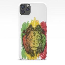 Rasta Jamaican Lion Gift for Rastafari & Reggae music fans graphic iPhone Case
