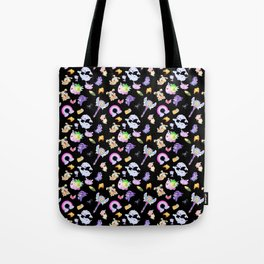 Star vs the Forces of Evil Pattern ( black ) Tote Bag