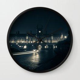 Nightscape Station Wall Clock