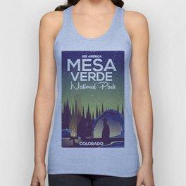 Mesa Verde National Park Camping Unisex Tank Top