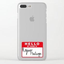 regina phalange Clear iPhone Case