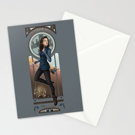 Art Nouveau - Melinda May Stationery Cards