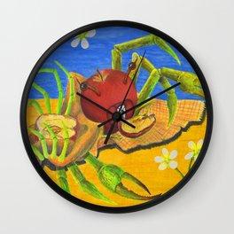 Malus Domestica Wall Clock