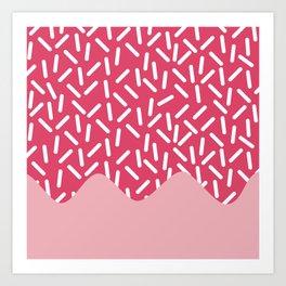 Sugar Rain Art Print