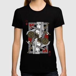 Omnia Illumina Queen of Hearts T-shirt