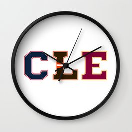 CLE Wall Clock