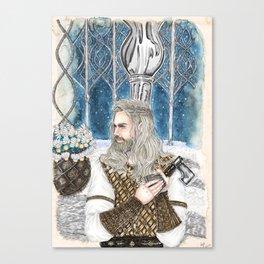 The god of light Canvas Print
