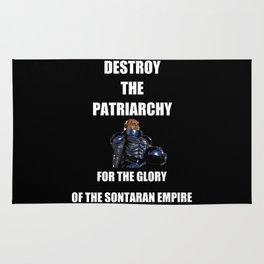 Destroy the Patriarchy Rug