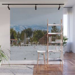 Front Range Snow Wall Mural