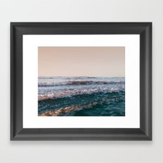 Pacific Lullaby Framed Art Print
