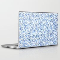aviation Laptop & iPad Skins featuring Schoolyard Aviation White by Dianne Delahunty