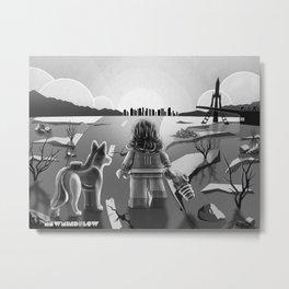 The Lone Survivor Metal Print