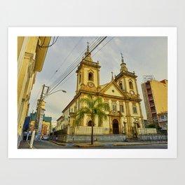 Old Basilica Art Print