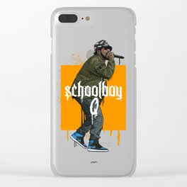 Schoolboy Q Clear iPhone Case