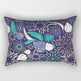 Tropical fireworks Rectangular Pillow