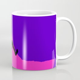 Climbing in sunset Coffee Mug