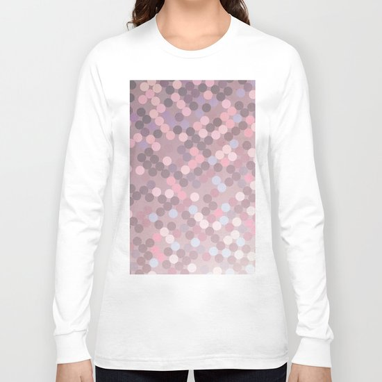 Polka Dots Geometry Long Sleeve T-shirt
