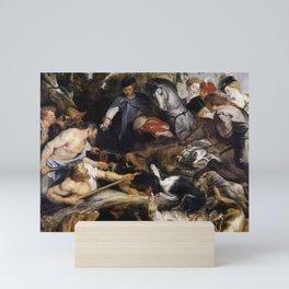 Peter Paul Rubens - La Chasse au sanglier Mini Art Print