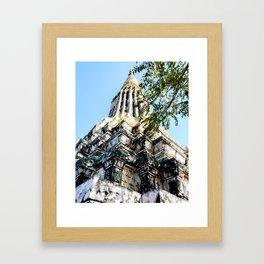 Ang Duong Stupa Framed Art Print