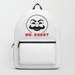 MR Robot Fsociety Backpack