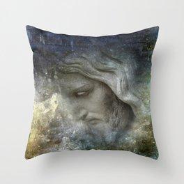 his face -1- Throw Pillow