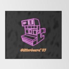 Glitterpix 83 Throw Blanket