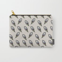 Falling Leaves Print Carry-All Pouch