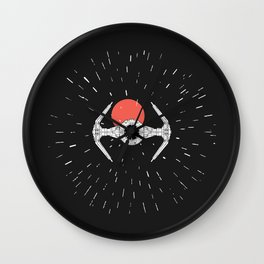 tie-fighter Wall Clock