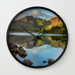 Crafnant Lake Wall Clock
