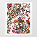 Floral and Birds XXXIII by burcukorkmazyurek