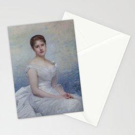 Jules Lefebvre - Frances Margaret Lawrance, Lady Vernon (d 1940) Stationery Cards