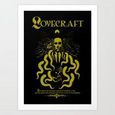 I Am Horror Art Print