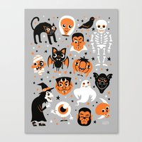 halloween Canvas Prints featuring Halloween by Greg Abbott