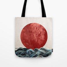 Sunrise in Japan Tote Bag