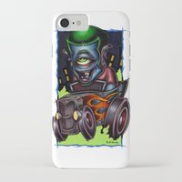 psych iPhone & iPod Cases featuring Psych-O-Clops by Pheck
