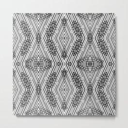 Geometric pattern 21 Metal Print