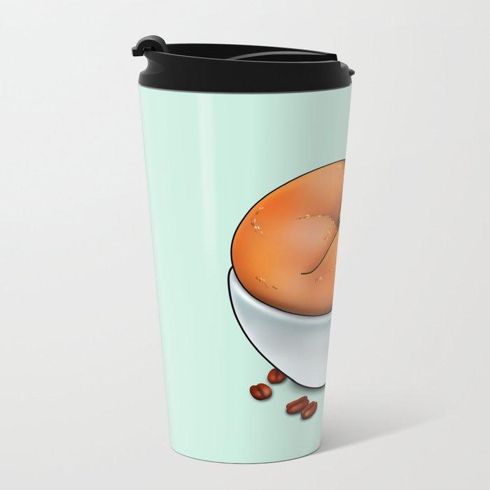Foxuccino Metal Travel Mug