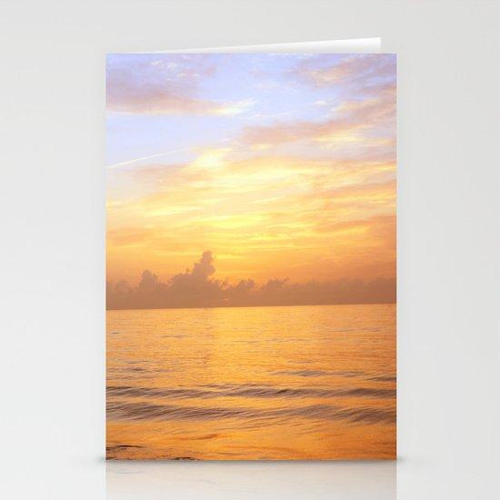 Sunrise on Vero Beach Stationery Cards