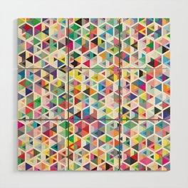 Cuben Colour Craze Wood Wall Art