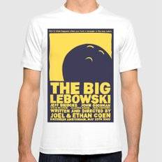 The Big Lebowski Mens Fitted Tee White X-LARGE