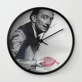 The Devious Dali Wall Clock