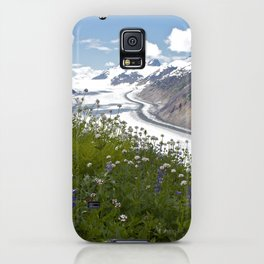 Glacial Flowers iPhone Case