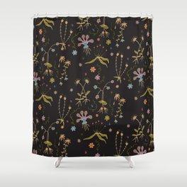 Flora of Planet Hinterland Shower Curtain