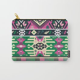 Fancy abstract geometric vector pattern in tribal style Carry-All Pouch