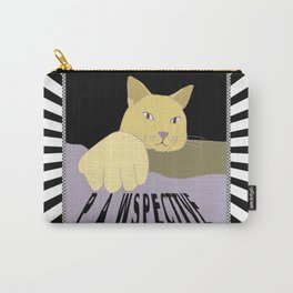 Pawspective Cat Art in Perspective Carry-All Pouch