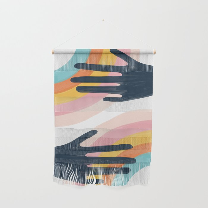Double the Colors Wall Hanging