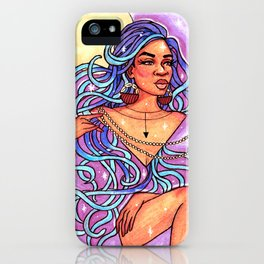 Goddess of the Galaxy iPhone Case